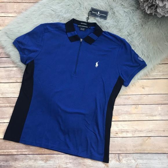8b2f0f4e Ralph Lauren Golf Polo Shirt Blue Royal Navy L NWT